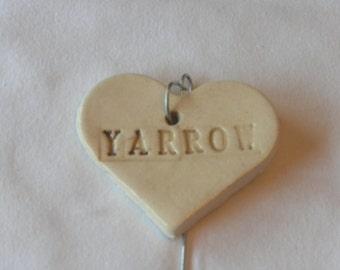 Yarrow Plant Marker