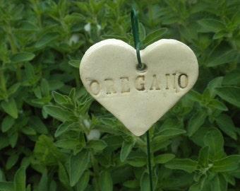 Oregano Plant Marker