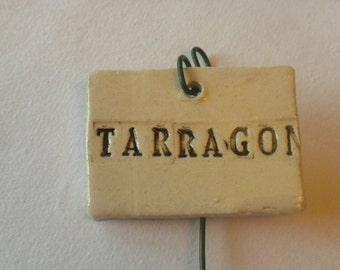 Tarragon Plant Marker