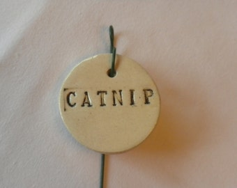Catnip Plant Marker
