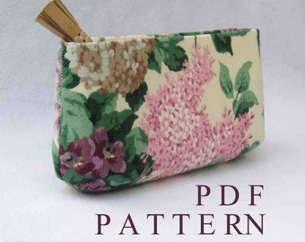Sewing Pattern DIY Wedding Bridesmaid Clutch Purse Download // simple // Beginner