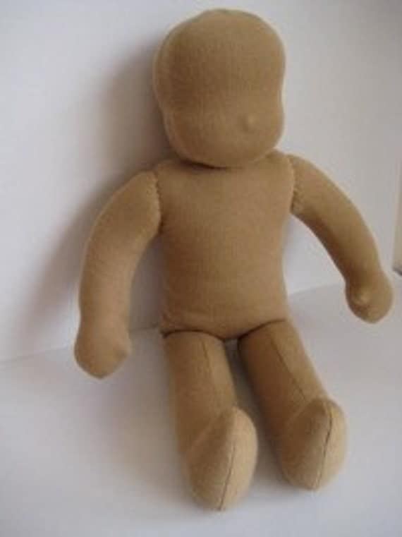 "Waldorf Doll Blank 14"" ready to finish/complete"
