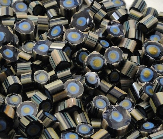 Like Magic.....Handmade Murrini Chips...Millefiori Slices......COE 104....Beatlebaby Glassworks