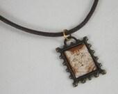 Cat Necklace- Memior stamp