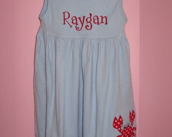 Personalized Crab Dress