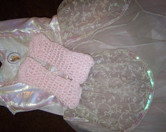 Crocheted Little Princess Handwarmers