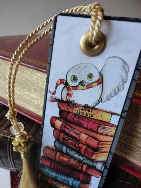 Harry Potter Bookmarks : Harry potter bookmark