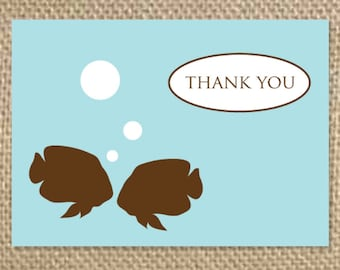 Popular Items For Fish Thank You On Etsy