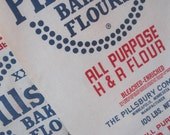 Reserved Listing: Two Large Flour Sacks