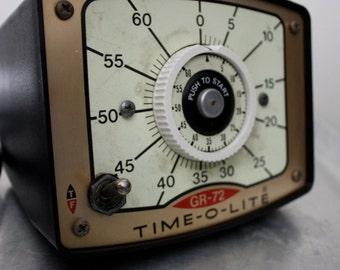 Vintage Time-O-Lite GR-72 Photography Darkroom Timer