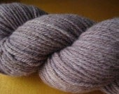 Natural Dyed Blueberry Organic Merino Worsted