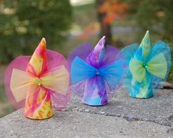 Tie Dye Fairy Dolls (Set of 3)