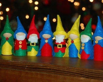 Wee Woodland Gnomes (Set of 3)