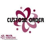 Custom Oder for Binabelle