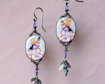 Lord Krishna Earrings