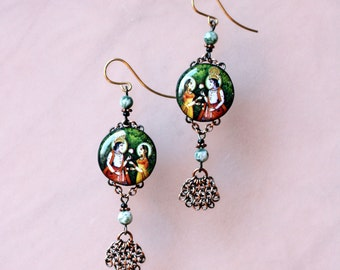 Radha Krishna Earrings