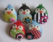 Give a SWEET TWEET, The original Eco Brooch (YOUR CHOICE)