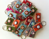 RESERVED for Julie (Camera Keychain Lot of 24)