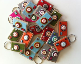 Camera Keychains-- The ECO BOXY-- Lot of 8 --