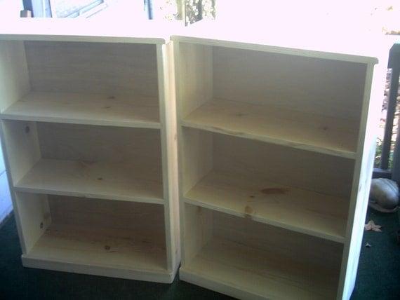 Luxury Vintage Rustic Knotty Pine Corner Hutch Shelf Bookcase Storage 175