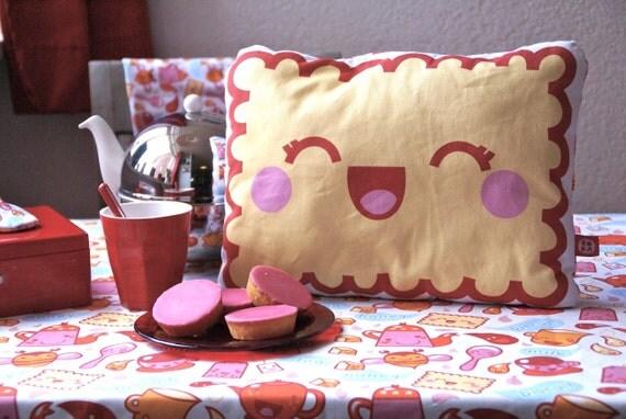 DIY Kawaii Bicuit Pillow 'Tea Time collection' by bora
