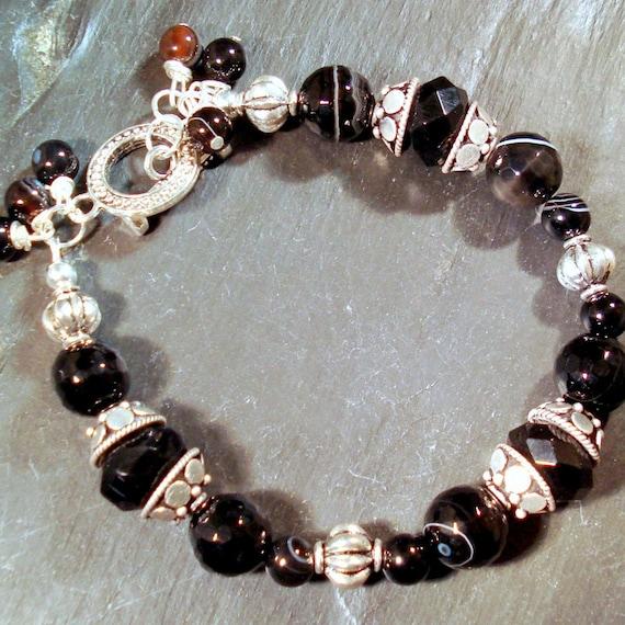 Black Onyx Bracelet On Sale was 35.00