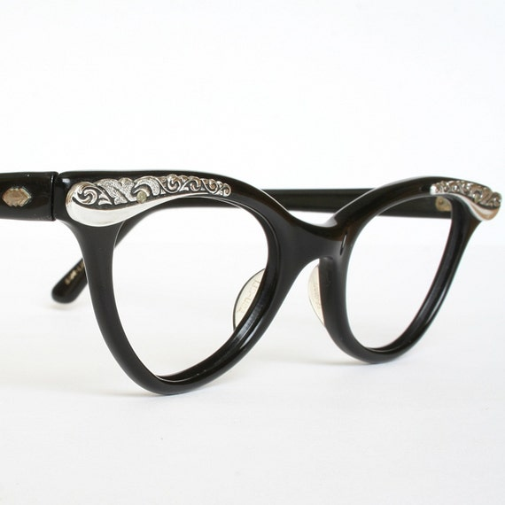 Liberty Vintage Horn Rim Eye Glasses - Never Worn