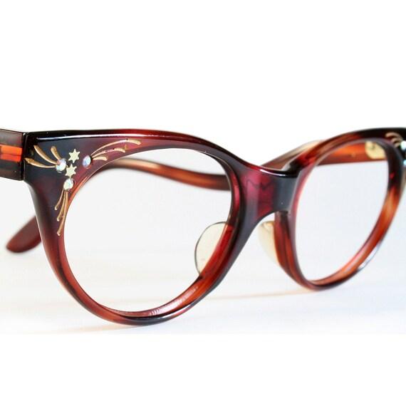 Shooting Stars Tortoiseshell Cat Eye Glasses