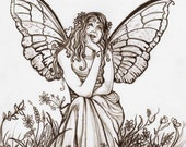 Fairy Love  8x10 print by Joseph LaFargue