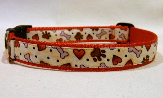 Puppy Love Large Dog Collar