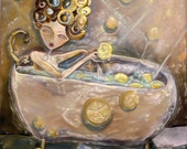 Lemon Bath- Fine Art Print by Jenna Fournier