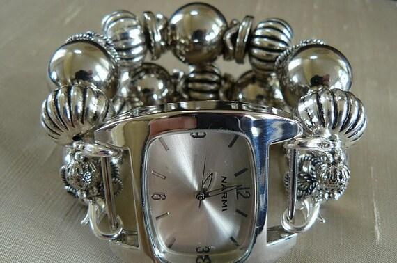 Silver Bells - Silver Interchangeable Watch Band