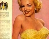 vintage marilyn monroe 1952 advertisement cosmetic