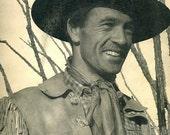 vintage western cowboy gary cooper 1940 advertisement