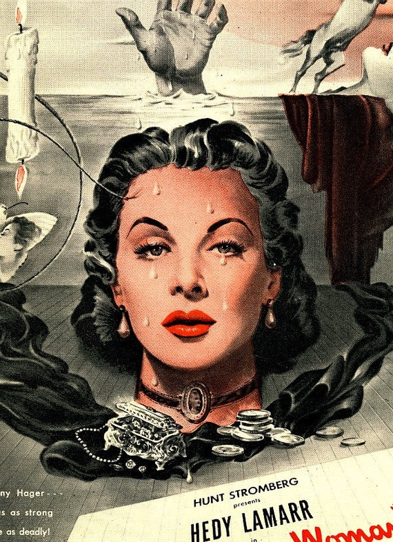 vintage 1946 advertisement the strange woman movie
