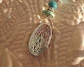 Heron Prayer Bead Bracelet