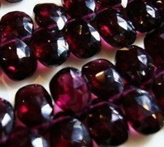 Rhodolite Garnet Pear Briolette
