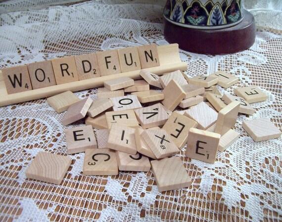 Scrabble Tiles Set of 50