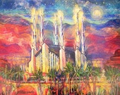 Las Vegas Temple 8.5x11 Print