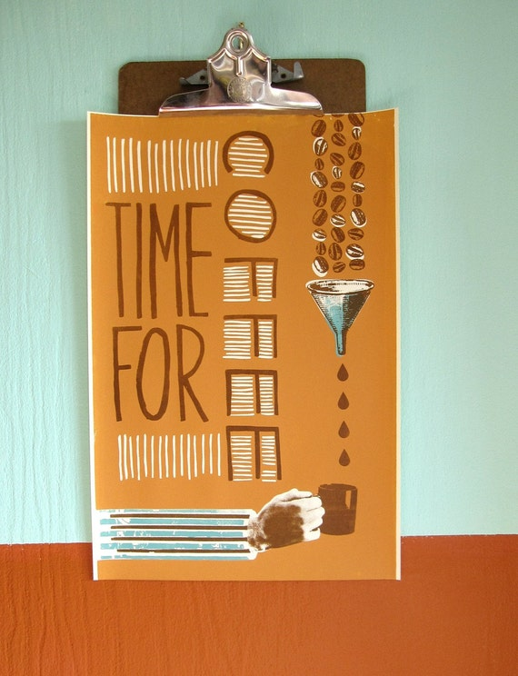 Time For Coffee Print