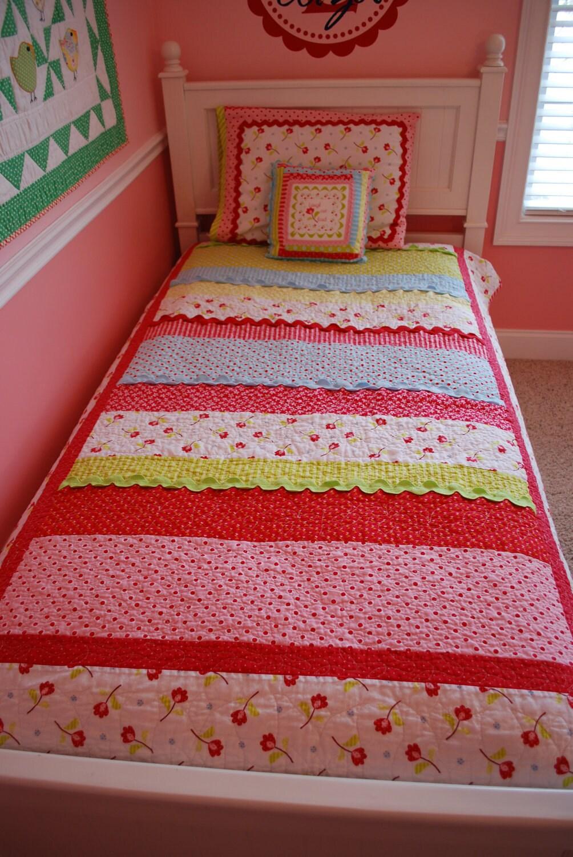 Twin Size Bed Quilt Measurements