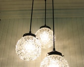 Lewiston I. Diamond Cut CHANDELIER Light
