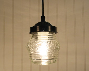 Portageburg. Vintage Porch Light Made PENDANT New