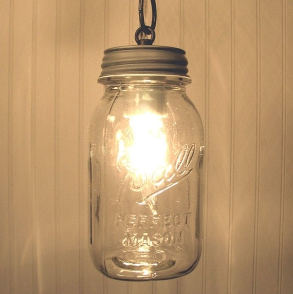 vintage swag plug in canning jar pendant light reserved for jena. Black Bedroom Furniture Sets. Home Design Ideas