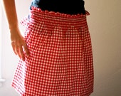 vintage betty apron