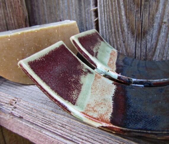 Modern  Soap Dish, unique stoneware art
