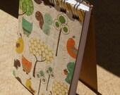3x4 Woodland Creatures Notebook