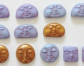 Handcrafted Face Cabochons