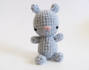 Crochet PATTERN PDF - Amigurumi Teddy Bear - cute crochet bear pattern, amigurumi teddy bear, crochet animal bear plush, softie, toy