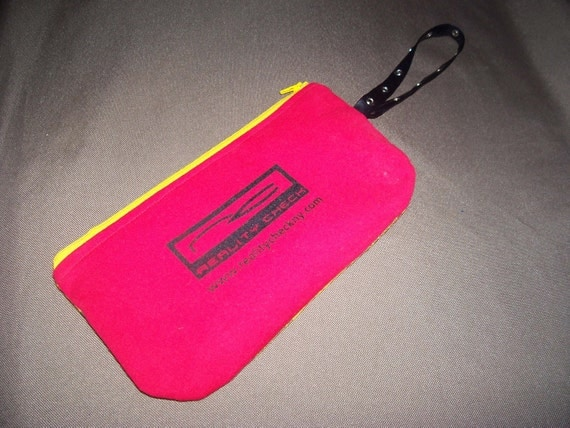 Handmade Eco Friendly Bags Purses AccessoriesClearance REALITY CHECK Clutch Anti-Tobacco